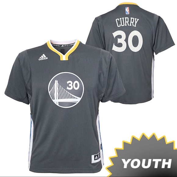 the latest 21fa0 abdd2 GSW Curry #30 Alternate Jersey -Youth L NWT